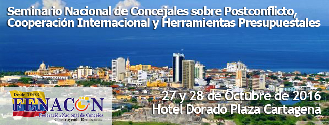 Semimario Nacional - Cartagena 2016
